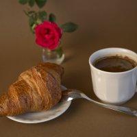 Кофе с круасаном :: ValentinaS Skvorcova