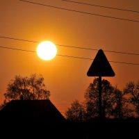 Солнышко на подзарядке... :: Андрей Куприянов