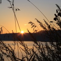 Закат на Байкале :: Анна