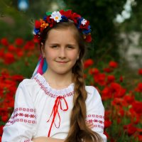 Украиночка. :: Елена Багрий