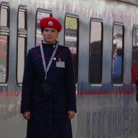 До отправления поезда осталось 5 минут... :: Наталья Осипова(Копраненкова)
