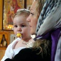 На крещении... :: Владимир Ангели