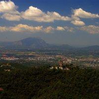 Вид на Барселону с горы Тибидабо. :: ФотоЛюбка *