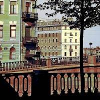 СПб, вид на Кокушкин мост. :: Марк Васильев
