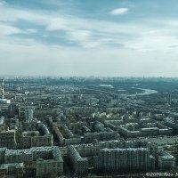 Москва за горизонтом не заканчивается :: Надежда Лаптева