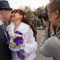 Свадебное фото. Процесс. :: Евгений Поляков