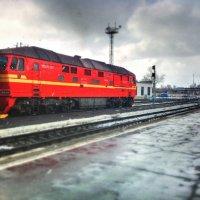 Котласский вокзал :: Сергей Селевич