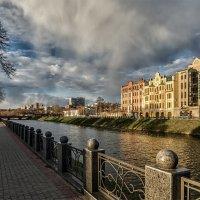 Вечер на Лопаньской набережной. Харьков. Украина :: Игорь Найда