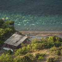 На морском берегу :: Игорь Кузьмин