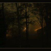 С туманом полночь принесёт свои сюрпризы... :: Сергей В. Комаров