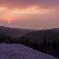 закат на горе Синюха :: Алексей Черновский