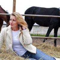 Лошадиные бега :: Elena Vershinina