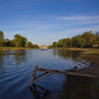 Теплый вечер на Вологде-реке :: Татьяна Копосова