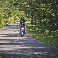 #Andrei and his bike :: Сергей Саврасов