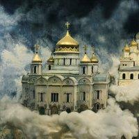 Стоит Божий храм, будто облаком белым одет :: Ирина Данилова