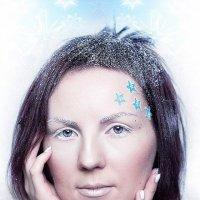 Зимняя фантазия 1, портрет :: Alex Lipchansky