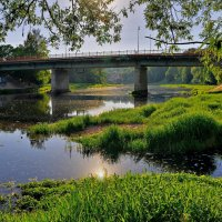 мост через р.Руза :: Андрей Куприянов