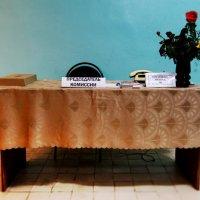 Стол председателя на выборах :: Альбина Латышева