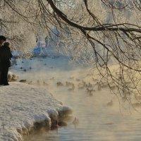 Берендеево царство. Зимний пруд :: Василий Ахатов