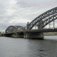 Большеохтинский мост :: Алексей Кудрявцев