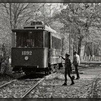 Из жизни старого трамвая :: Тамила Кулиева