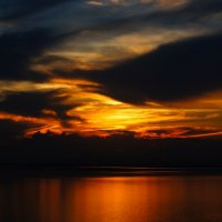 Закат на плотине... :: Александр Федоров
