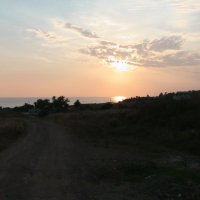 Дорога заходящего солнца :: Дмитрий Агафонов