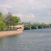 Троицкий ( Кировский ) мост :: Олег Попков