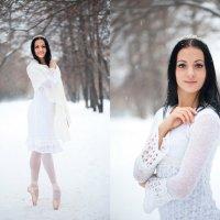 Балерина на снегу :: Екатерина Лыжина