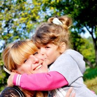 Детский поцелуй самый честный! :: Аня Белинская