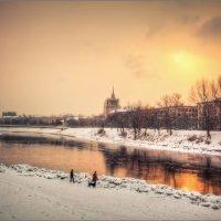/ Зима, вечер, набережная ... / :: Влад Соколовский