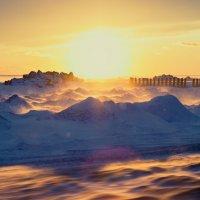 Зимний закат :: Мария Майданова