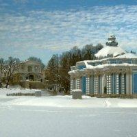 Павильон  Грот в Екатерининском парке :: Олег Попков