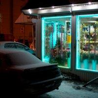 Цветочный киоск :: Андрей Агафонов