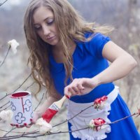 Алиса в стране чудес :: Юлия Трибунская