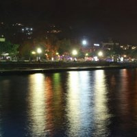 ночная Ялта в ноябре :: Николай Ковтун