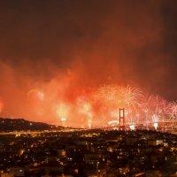 Istanbul bosphorus 29 ekim :: Selman Şentürk