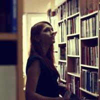 в библиотеке :: Юлия Люлькина