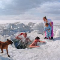 Bathing Family Naturists (Купающиеся Натуристы) :: Андрей Пашис