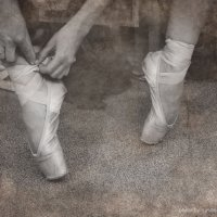 Ножки балерины :: Василиса Мухамедгалиева
