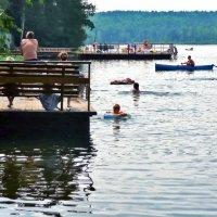 Летом на озере :: Александр Садовский