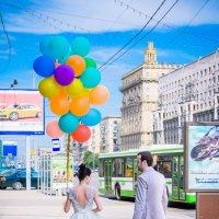 Любовь в большом городе :: Тиана Цветаева