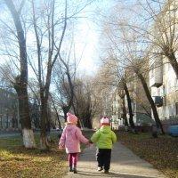 Вместе весело шагать... :: Анна Серобабова