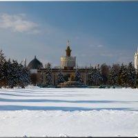 Зима на ВДНХ :: Олег Каплун