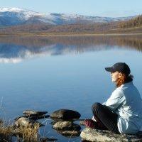 Улаганские озера. Живое озеро. :: Анастасия Куртукова