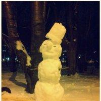 Первый снеговик :: Андрей Гендин