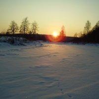 Ночь будет морозной. :: Валерий Щербаков
