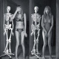 Скелет одной моей подруги. :: Ольга Герасимова