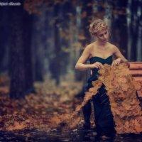 Девушка-осень :: Сергей Авсеенко