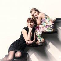 фото в студии мама и дочь :: Станислав Пересыпкин
